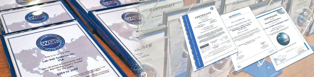 prodit engineering certifications